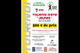 Tournoi jeunes 2018