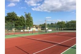 Les courts de tennis de Laurac rénovés