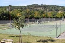 courts de tennis de Joyeuse